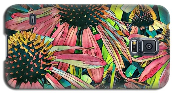 Gathering Of Coneflowers Galaxy S5 Case by Diane Miller