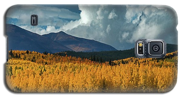 Galaxy S5 Case featuring the photograph Gathering Storm - Park County Co by Dana Sohr