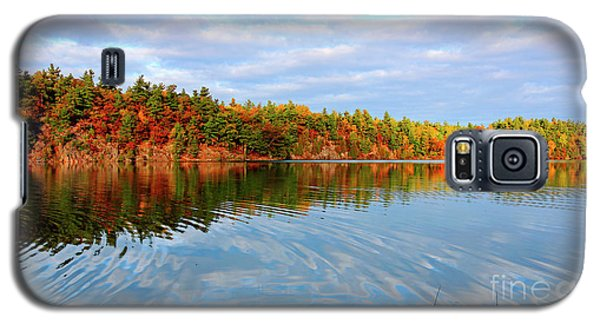 Gatineau Park Autumn Landscape Galaxy S5 Case by Charline Xia