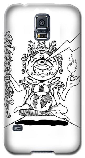 Gautama Buddha Black And White Galaxy S5 Case