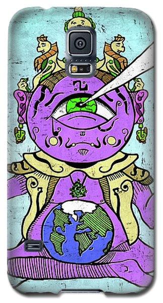 Gautama Buddha Colour Illustration Galaxy S5 Case