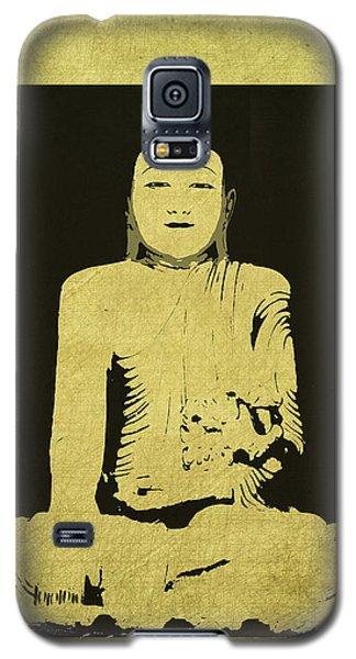 Galaxy S5 Case featuring the digital art Gautama Buddha by Kandy Hurley