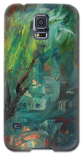 Galaxy S5 Case featuring the painting Gaza Summer 2014 by Miriam Leah