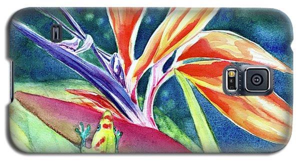 Gecko On Bird Of Paradise Galaxy S5 Case