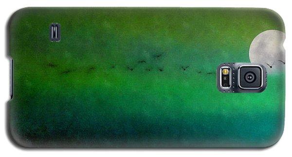 Geese In Flight  Galaxy S5 Case