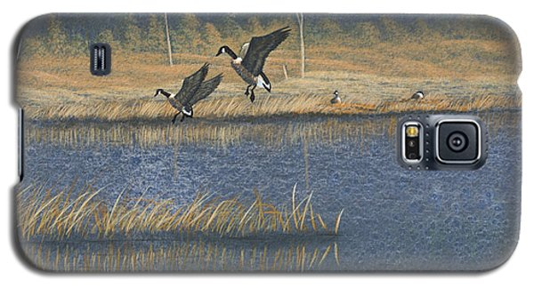 Geese Galaxy S5 Case by Richard Faulkner