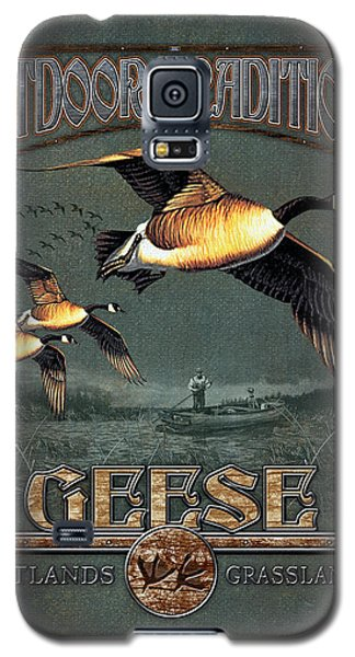 Geese Galaxy S5 Case - Geese Traditions by JQ Licensing