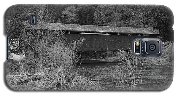 Geiger Covered Bridge B/w Galaxy S5 Case