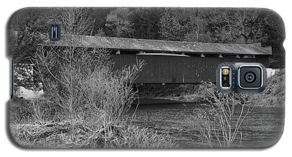 Geiger Covered Bridge B/w Galaxy S5 Case