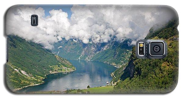 Geirangerfjord Galaxy S5 Case