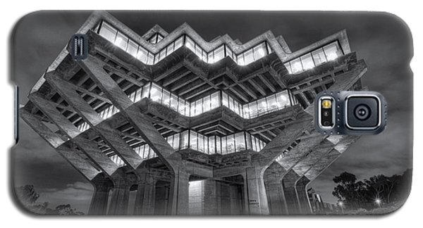 Geisel Library In Black And White Galaxy S5 Case