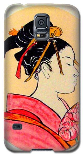 Geisha In The House Of Pleasure Galaxy S5 Case