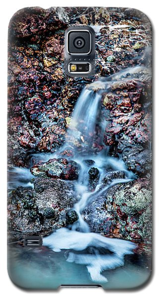 Galaxy S5 Case featuring the photograph Gemstone Falls by Az Jackson