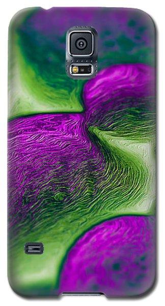 Gene Pool Purple Galaxy S5 Case