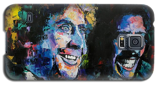 Galaxy S5 Case featuring the painting Gene Wilder And Richard Pryor by Richard Day