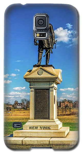 Galaxy S5 Case featuring the photograph General Abner Doubleday - Gettysburg National Park by Nick Zelinsky