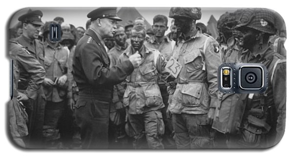 General Eisenhower On D-day  Galaxy S5 Case by War Is Hell Store