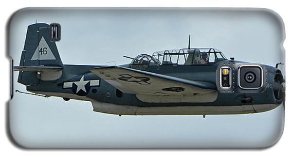 Galaxy S5 Case featuring the photograph General Motors Tbm-3e Avenger Nx7835c Chino California April 30 2016 by Brian Lockett