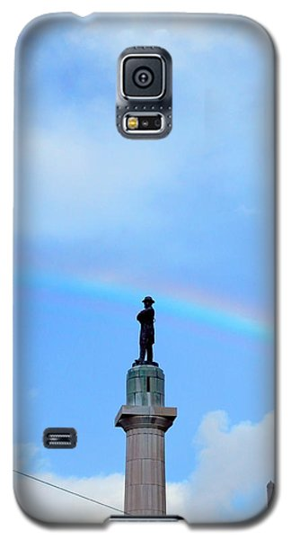 General Robert E. Lee Mounment In Retro Spectrum Galaxy S5 Case