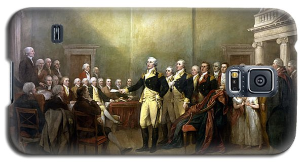 Politicians Galaxy S5 Case - General Washington Resigning His Commission by War Is Hell Store