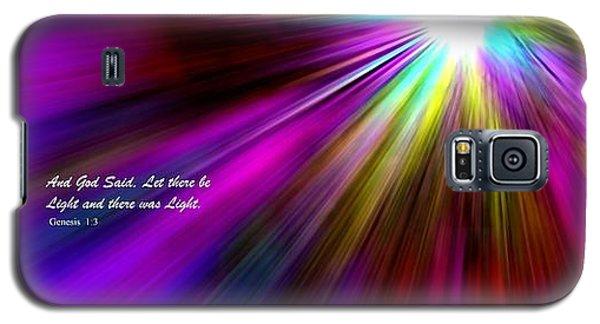 Genesis 1 Verse 3 Galaxy S5 Case