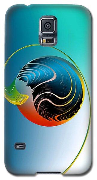 Genesis Galaxy S5 Case by Leo Symon