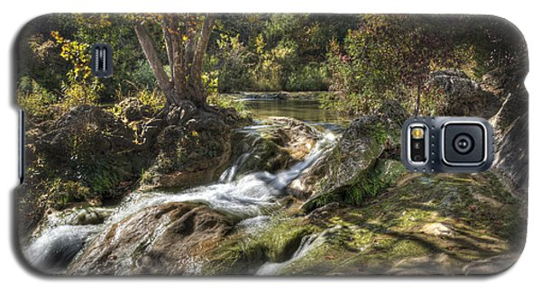 Galaxy S5 Case featuring the photograph Gentle Mountain Stream by Tamyra Ayles