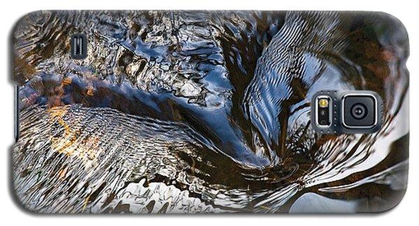 Gentle Swirl Ripple In River-3 Galaxy S5 Case