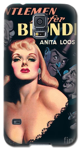 Galaxy S5 Case featuring the painting Gentlemen Prefer Blondes by Earle Bergey