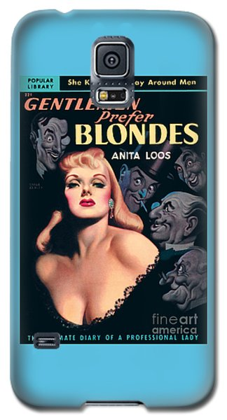 Gentlemen Prefer Blondes Galaxy S5 Case