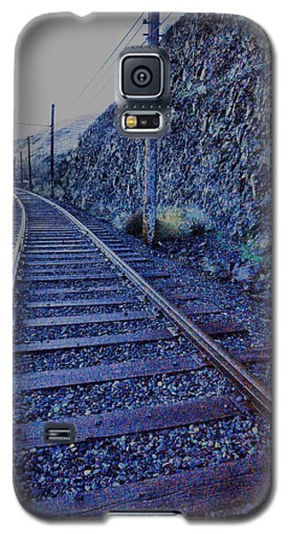 Galaxy S5 Case featuring the photograph Gently Winding Tracks by Jeff Swan