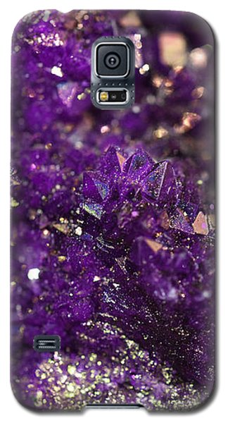 Geode Abstract Amethyst Galaxy S5 Case