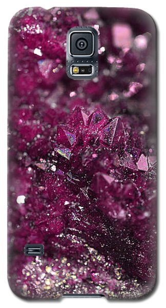 Geode Abstract Raspberry Galaxy S5 Case