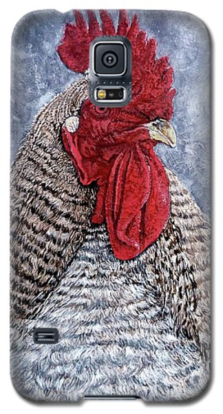 Galaxy S5 Case featuring the painting Geoff by Tom Roderick