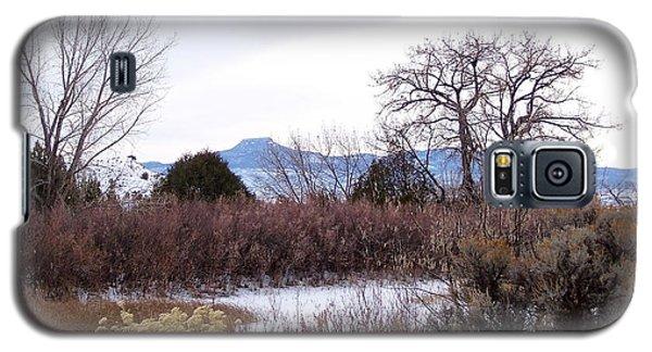 Geogia O'keefe's Pedernal Mountain Galaxy S5 Case