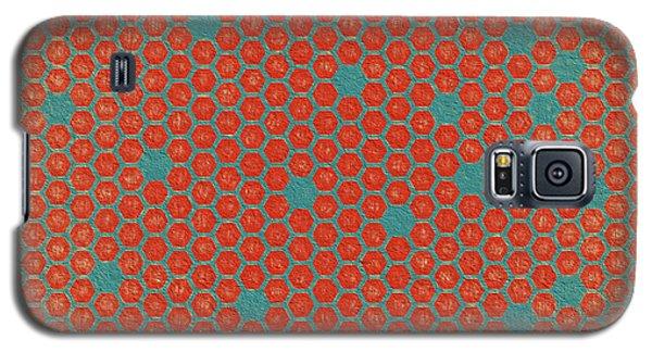 Galaxy S5 Case featuring the digital art Geometric 1 by Bonnie Bruno