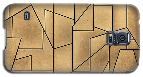 Geometric Abstraction IIi Toned Galaxy S5 Case