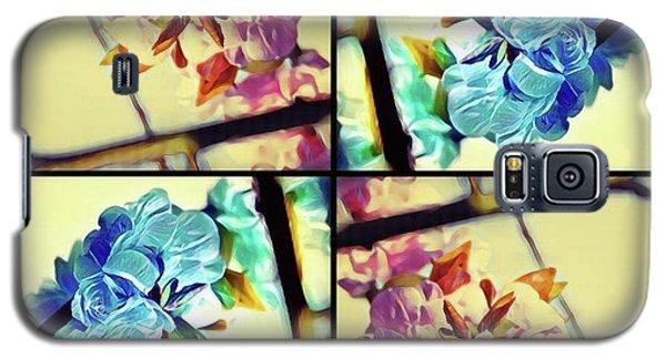Geometric Blossoms Galaxy S5 Case