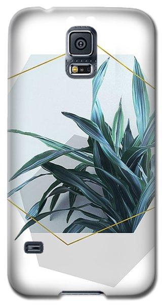 Geometric Jungle Galaxy S5 Case