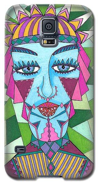 Geometric King Galaxy S5 Case