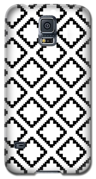 Geometricsquaresdiamondpattern Galaxy S5 Case by Rachel Follett