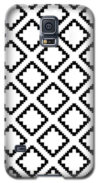 Geometricsquaresdiamondpattern Galaxy S5 Case by Rachel Follett