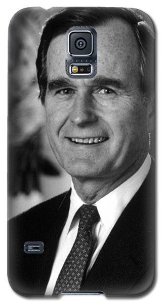George Bush Sr Galaxy S5 Case by War Is Hell Store