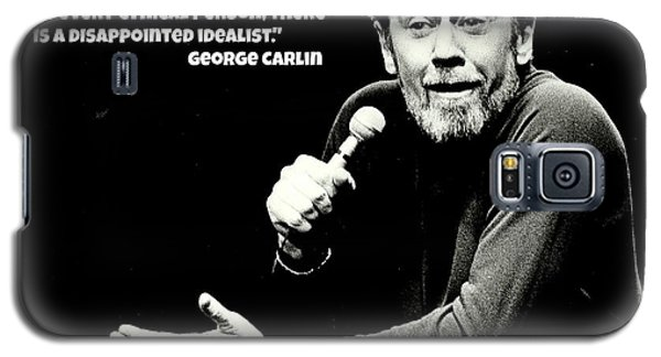 Johnny Carson Galaxy S5 Case - George Carlin Art  by Pd