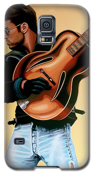 George Michael Painting Galaxy S5 Case by Paul Meijering