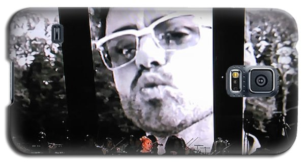 George Michael Sends A Kiss Galaxy S5 Case by Toni Hopper