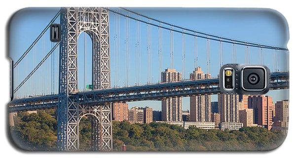 George Washington Bridge And Lighthouse II Galaxy S5 Case