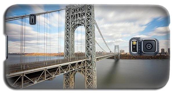 George Washington Bridge Galaxy S5 Case by Greg Gard