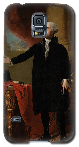 George Washington Lansdowne Portrait Galaxy S5 Case by War Is Hell Store