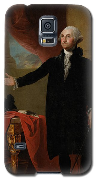 Portraits Galaxy S5 Case - George Washington Lansdowne Portrait by War Is Hell Store